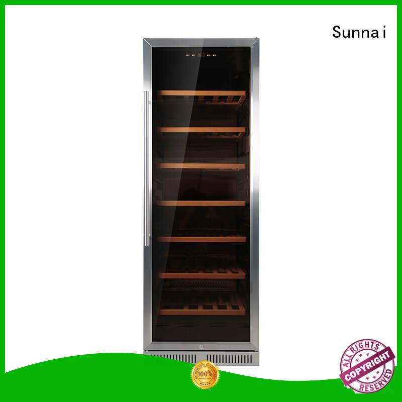 single double doors wine cooler compressor compressor for shop