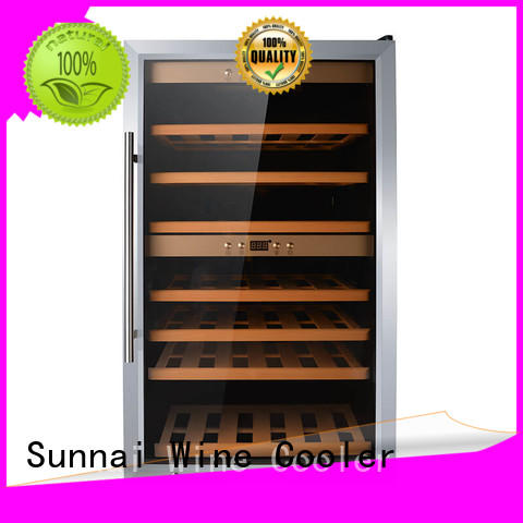 Sunnai door free standing wine refrigerator product for home
