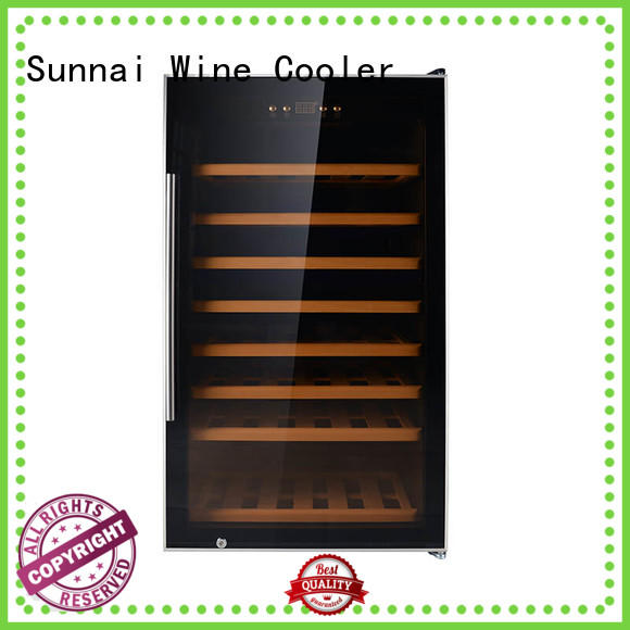 Sunnai wine single zone wine fridge product for indoor