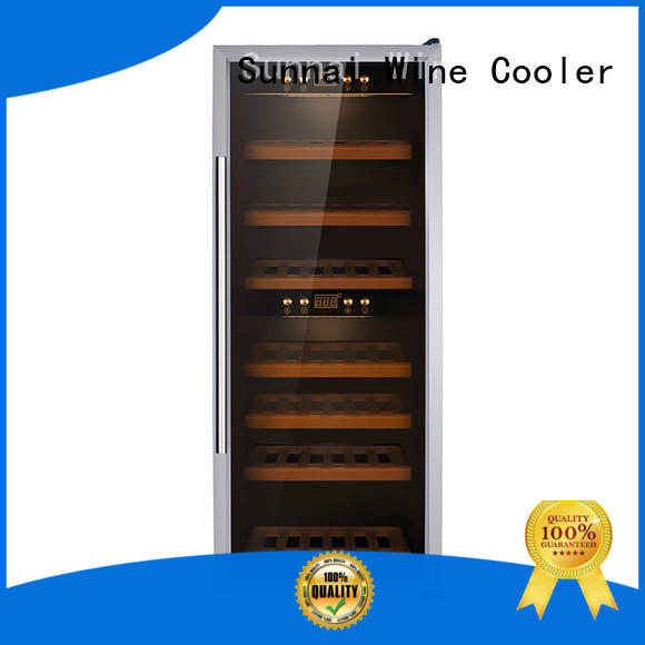 Sunnai online wine cellar fridge series for shop