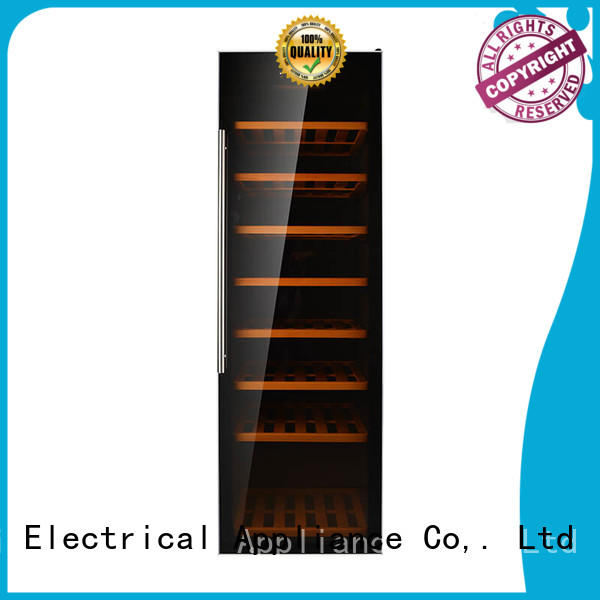 Sunnai compressor wine cooler stand product for indoor
