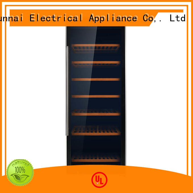 Sunnai high quality dual zone freestanding wine cooler series for home