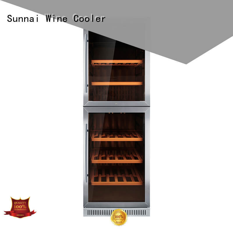 single under counter wine cooler stainless wholesale for indoor
