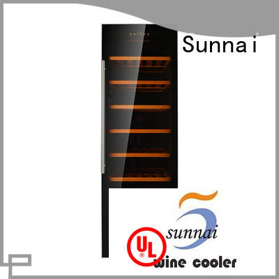 Sunnai double dual zone wine cooler product for shop