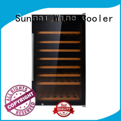 single 2 door wine refrigerator bottles home Sunnai