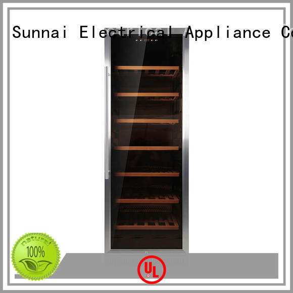 Sunnai double compressor wine coolers cooler for indoor