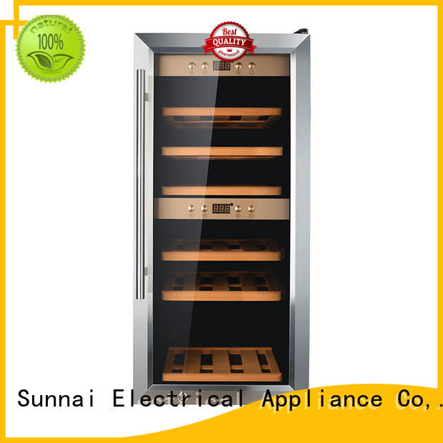 Sunnai wine wine storage refrigerator smaller work