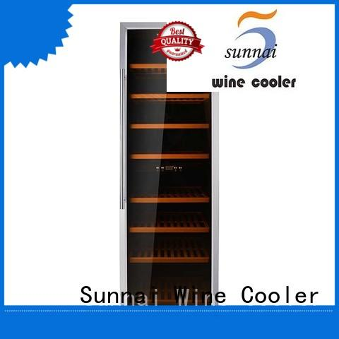 Sunnai table stainless steel door wine cooler product for work station