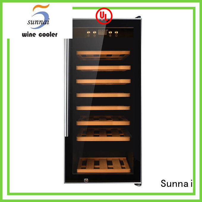 Sunnai online dual zone wine cooler supplier for shop
