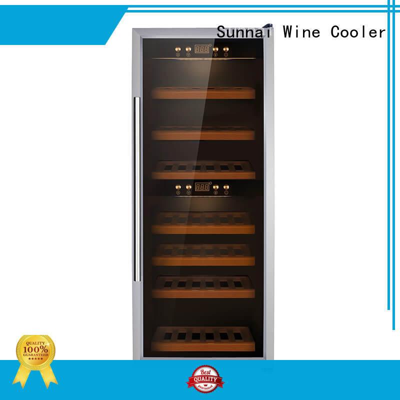 Sunnai professional wine cooler fridge supplier for work station