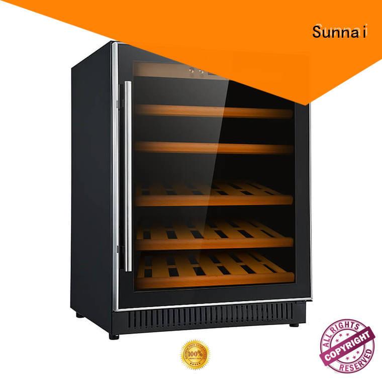 durable compressor wine coolers black wholesale for shop