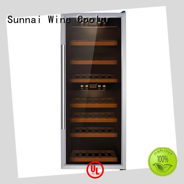durable single zone wine cooler refrigerator manufacturer for work station