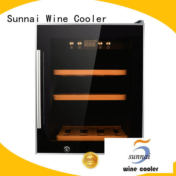 single compressor wine cooler dual zone zone supplier for indoor
