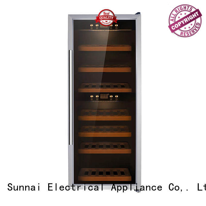 Sunnai safety wine storage refrigerator product for indoor