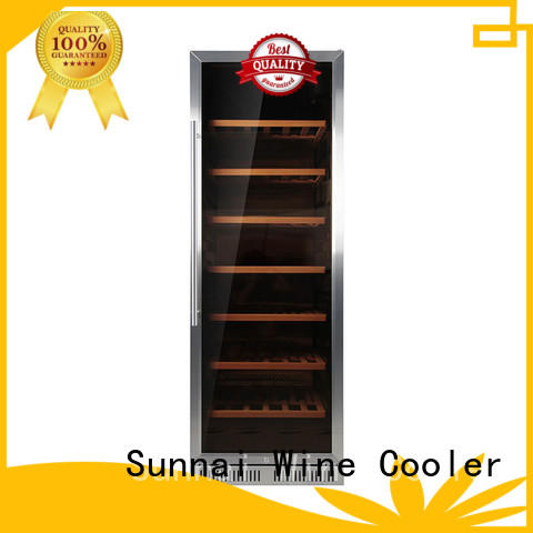 Sunnai wine compressor wine coolers manufacturer for indoor