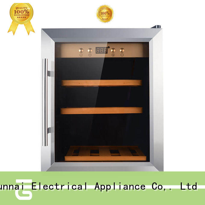 durable free standing wine refrigerator cooler wholesale for shop