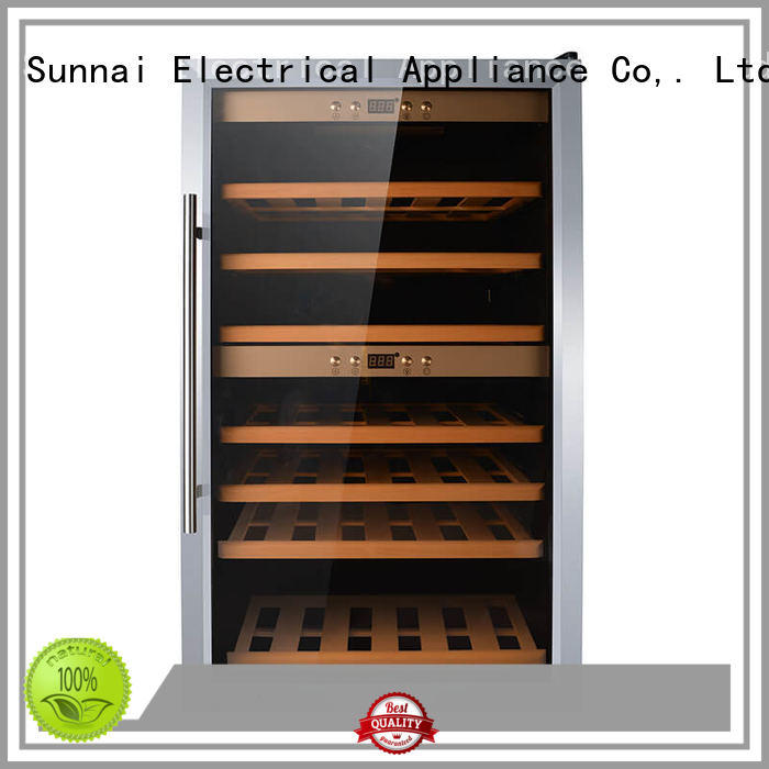 high quality single zone wine refrigerator table product for indoor