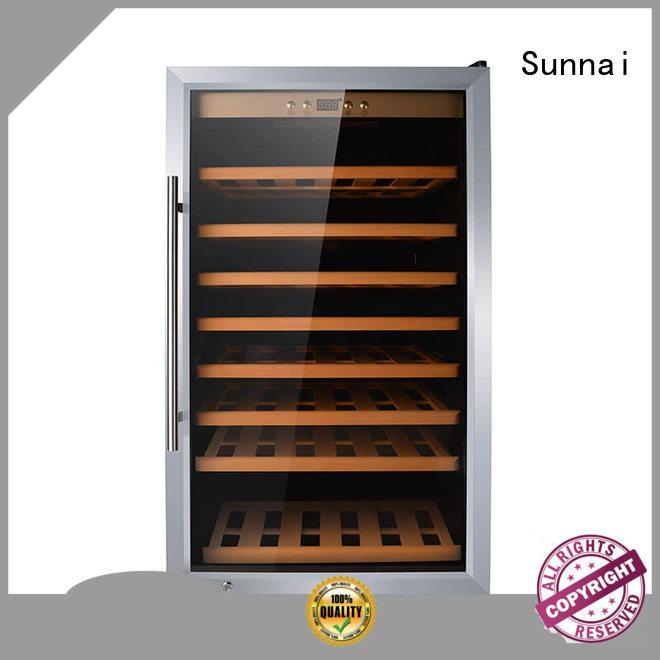 wine compressor wine cooler dual zone compressor supplier for home