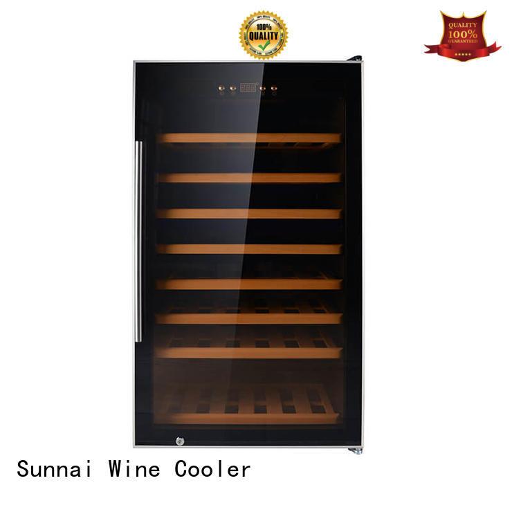 Sunnai online wine cooler fridge supplier for home