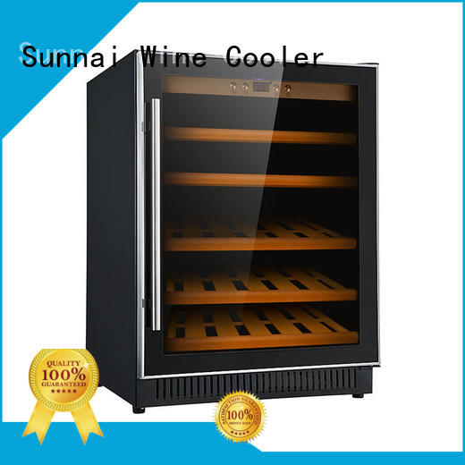 Sunnai single single zone wine fridge wholesale for work station