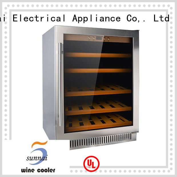 double under counter wine refrigerator single manufacturer for work station