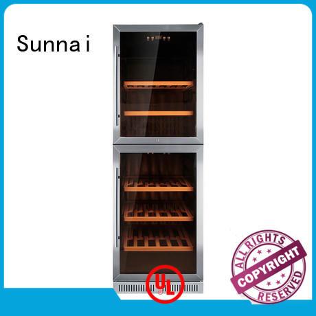 Sunnai single single zone wine fridge cooler for indoor
