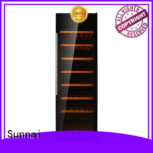 Sunnai wine compressor wine cooler dual zone series for home