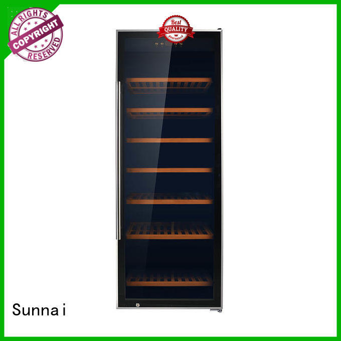 high quality wood wine refrigerator product for home Sunnai