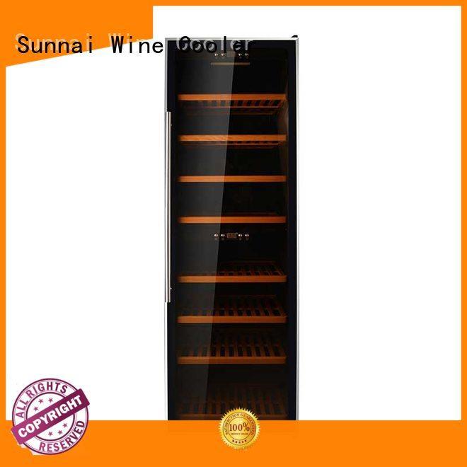 wine single zone wine cooler refrigerator for indoor Sunnai