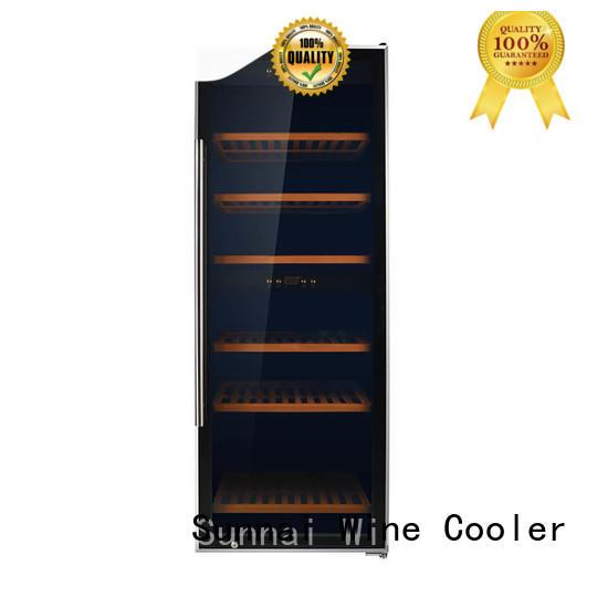 Sunnai durable free standing wine refrigerator refrigerator for work station