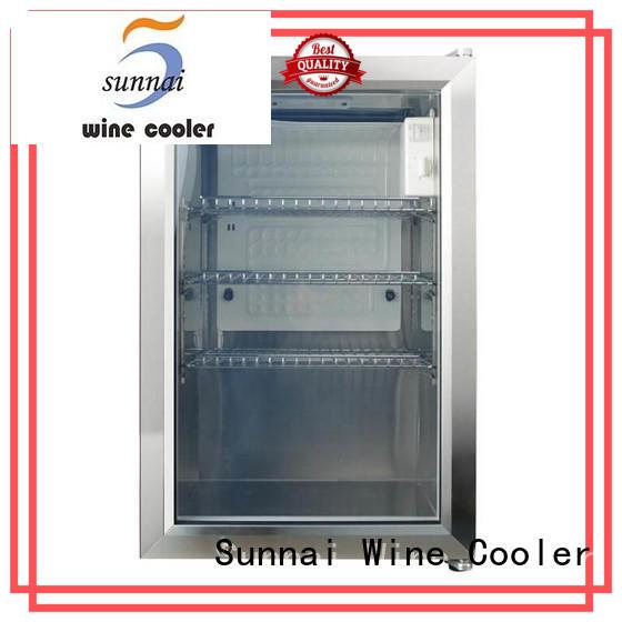 Sunnai support compressor beverage cooler series for work station
