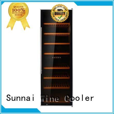 Sunnai table wine cooler fridge series for work station