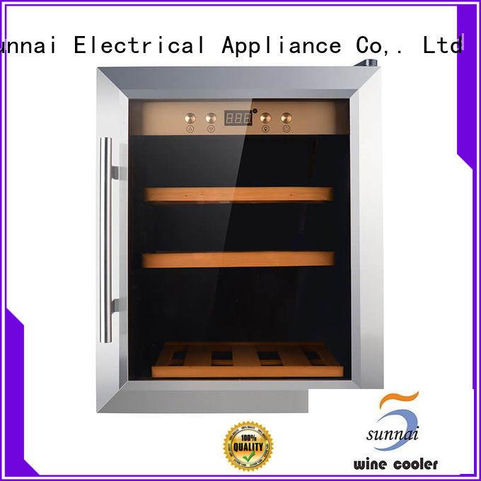 Sunnai high quality wine cooler fridge series for indoor