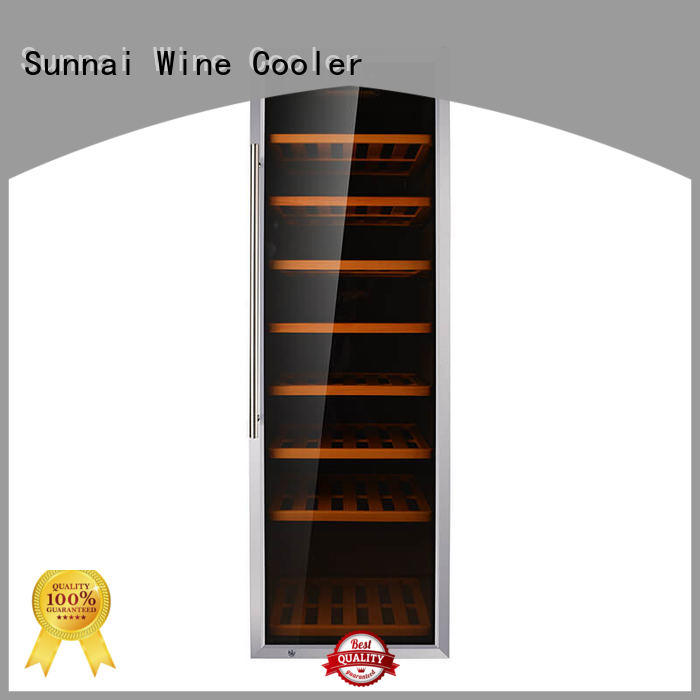 Sunnai double wine cooler refrigerator supplier for work station