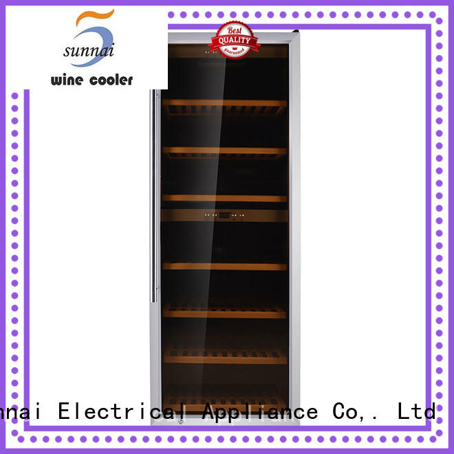 durable single zone wine refrigerator zone manufacturer for work station