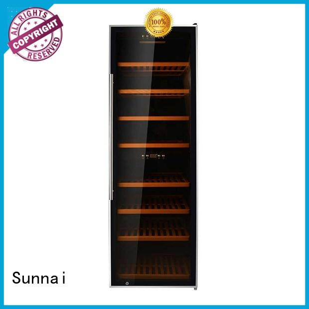 high quality dual zone wine refrigerator fridge supplier for work station
