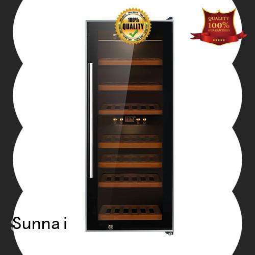 Sunnai zone free standing wine refrigerator wholesale for home