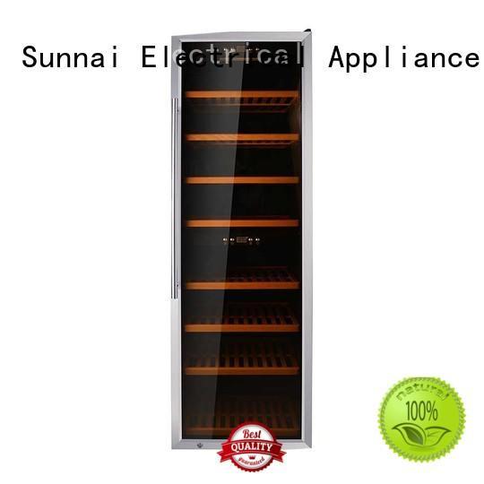 Sunnai single wine storage fridge wholesale for work station
