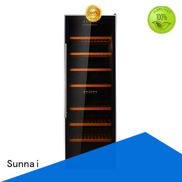 Sunnai single wine storage cooler wholesale for shop