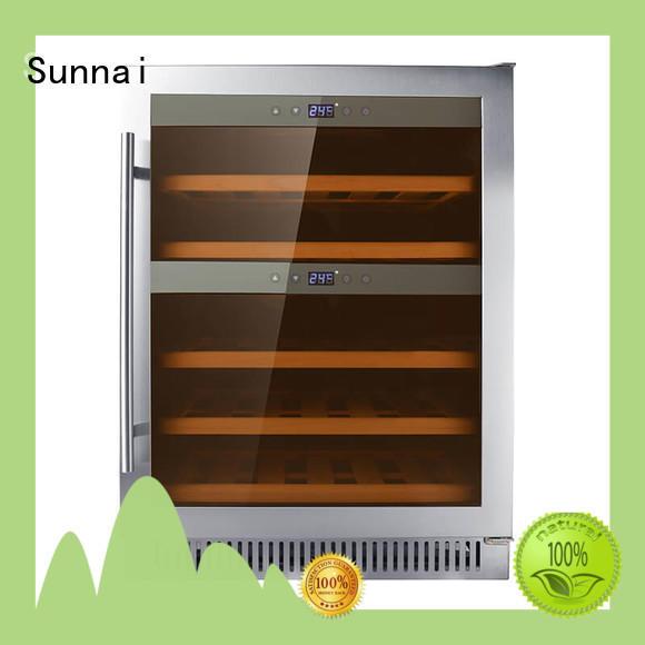 Sunnai professional under counter wine cooler compressor for indoor