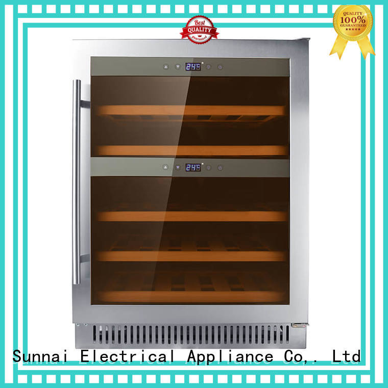 Sunnai professional under counter wine cooler series for shop