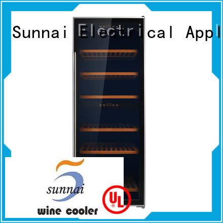 Sunnai dual dual zone freestanding wine cooler series for home