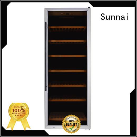 Sunnai wine single zone wine fridge product for shop