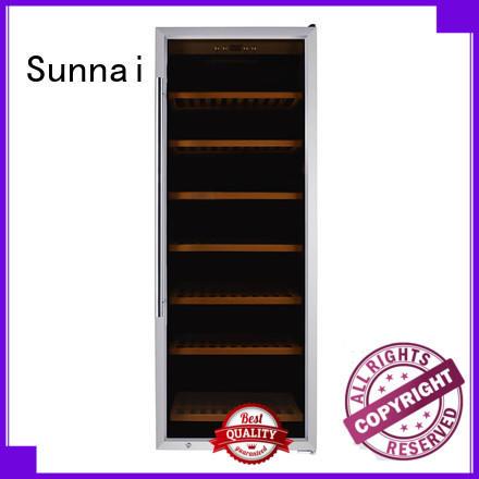 Sunnai single freestanding wine cooler manufacturer for work station