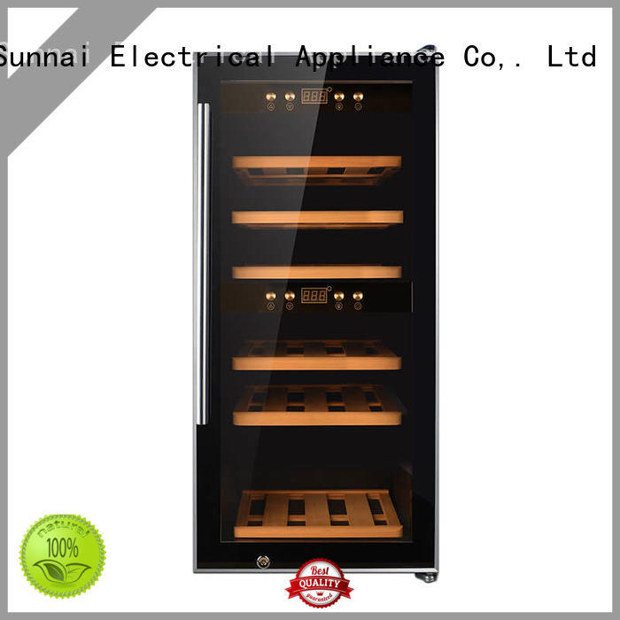 Sunnai online wine storage refrigerator series for home