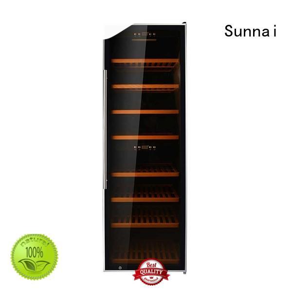 Sunnai durable wine bottle fridge wholesale for indoor