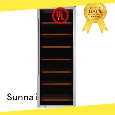 Sunnai durable single zone wine fridge supplier for indoor