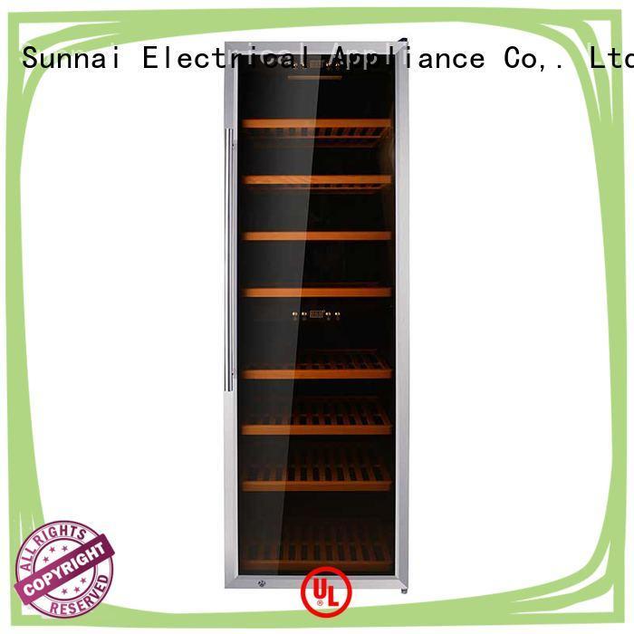 Sunnai bottles wine cellar fridge wholesale for indoor