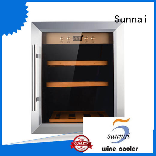 Sunnai online wine cellar cooler supplier for work station