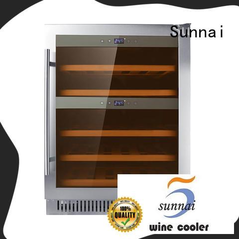 professional under counter wine fridge double manufacturer for indoor